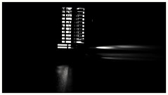 Welcome to the movies (frankdorgathen) Tags: dark light electricity movie beamer abstract minimalism minimalistic blackandwhite monochrome negativespace indoor essen ruhrgebiet rüttenscheid cineastic huawei smartphone