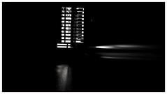 Welcome to the movies (frankdorgathen) Tags: dark light electricity movie beamer abstract minimalism minimalistic blackandwhite monochrome negativespace indoor essen ruhrgebiet rüttenscheid cineastic huawei smartphone