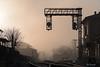 stazione di Marmore (roibenedetti) Tags: ferrovia stazione marmore binari semaforo scambio nebbia alba mattina nikon 18140 d500 benedetti roi visibilità