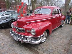 Nash Ambassador 436YUP (Andrew 2.8i) Tags: queen queens square bristol breakfast club classic classics car cars show meet 1947 47 american saloon sedan ambassador nash