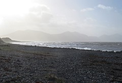 6607 Waves at Dinas Dinlle (Andy - Not too busy) Tags: bbb beach ddd dinasdinlle iii irishsea lleynpeninsular lll peninsular ppp sea shingle sss water waves www