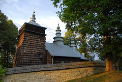 Church (petrk747) Tags: poland zdynia church orthodoxchurch architecture oldarchitecture woodenarchitecture cupolas heaven trees outdoor