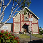 Keith. The fine stone and brick Methodist Church built in 1909. A new Uniting Church has been built elswhere in Keith. This church is now a hairdressing salon. It was sold in 1987 as the new Uniting church was ready to open in 1988. thumbnail