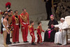 Pope Francis Attends His Weekly Audience (Catholic Church (England and Wales)) Tags: pope francis attends his weekly audience