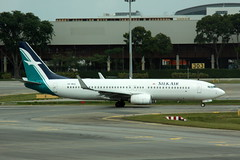 Boeing 737-800 9V-MGQ (egbjdh) Tags: davehaines january2018 wsss singapore changi