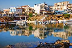 Kreta, Sissi - Κρήτη, Σίσι (FBK1956) Tags: 2017 griechenland kreta sissi κρήτη σίσι hafen bucht fischer reflexion spiegelung