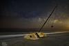 The Cuki Way, or maybe Milky Cuki? (Michael Seeley) Tags: astrophotography atlanticocean beach canon cuki hurricaneirma longexposure melbournebeach mikeseeley milkyway nightphotography ocean sailboat wreck shipwreck