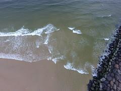 Manasquan Inlet and the Atlantic Ocean captured by a DJI Phantom 4 drone. (apardavila) Tags: atlanticocean djiphantom4 jerseyshore manasquan manasquanbeach manasquaninlet aerial beach drone rocks