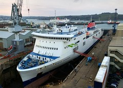 Stena Horizon and Stena Europe (<<jeremy>>) Tags: ferry stena line e visentini rosslare cherbourg
