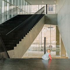 Miss Monamie (Bregg) Tags: university ghent architecture concrete steel stairs baby minimal minimalism lines tweekerken