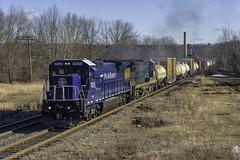 POED at Athol (Thomas Coulombe) Tags: panamrailways panam poed gec408 c408 freighttrain train athol massachusetts district3