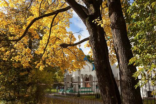 Tsar's porch. Autumn.