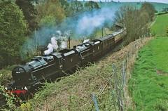 LMS Double (paul_braybrook) Tags: lms class8f class5 black5 steamlocomotive settleandcarlisle armathwaite railway railtour trains