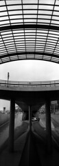 Over Under (selyfriday) Tags: selyfriday wwwnassiocomempty nassiocom hasselblad amsterdam poles abstract brutalist kentmere caffenol panorama 45mmf4 2711 analogue wide deltastd 9minutes 20˙c kentmere400 400 400iso netherlands nederland holland dutch mokkum lines xpan