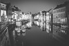 Ghent, Belgium - Christmas (Regan Gilder) Tags: christmas christmasmarkets christmaslights christmasdecorations ghent belgium eu europe blackwhite bw reflection night nightlights nightsky nightshot canoneos5dmarkiii canon water canal boats