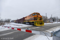 GEXR 3030 (Ramblings From The 4th Concession) Tags: gexr3030 gp402lw emdlocomotives freighttrains geneseewyoming panasonicfz1000 guelphont