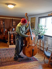 The Large Double Bass (☼Cold & Sunny Today!☼) Tags: theflickrlounge wk5 large instrument stu bass atthelutiers