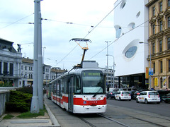 Brno tram No. 1109 (johnzebedee) Tags: tram transport vehicle publictransport brno czechrepublic johnzebedee