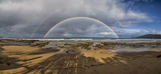 Great Ocean Road  rainbow
