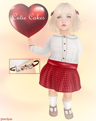 #CutieCakes Heather @ Grabby Hands (Sye Rose) Tags: cutiecakes muriel grabbyhands heather bracelet wasabi pills event secondlife designer second td toddleedoo outfit cute ikon kids kid life little skin grabby fashion sl children child
