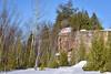 Winter at Fonferek Glen (Jay Janssen) Tags: snow winter fonferek glen color limestone rock trees sky depere wisconsin