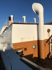 SS Nomadic (John D McDonald) Tags: iphone iphone7plus appleiphone appleiphone7plus northernireland ni ulster belfast eastbelfast countydown codown down ballymacarret ballymacarrett titanicquarter nomadic ssnomadic blue sky bluesky colourcoloursblueskyblue