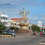 Vishnu Traffic Circle, Battambang thumbnail