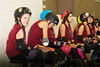068 (Bawdy Czech) Tags: lcrd lava city roller dolls cinder kittens cherry bomb brawlers skate rollerskate bout bend oregon or february 2018 juniorderby juniors rollerderby lavacityrollerdolls