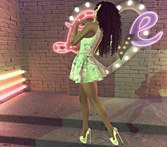 Love, Love (kare Karas) Tags: woman lady femme girl girly cute beauty sensual love pastels avatar virtual game secondlife february events magic soul happy mesh bento liziaah cazami haysuriza dress glasses nailpolish designershowcaseevent mosquitosway heels customizable treschicevent