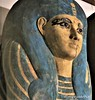 Face of the inner coffin of Ahmose Meritamun (Merja Attia) Tags: coffin ahmosemeritamun deirelbahri innercoffin tombtt358 18thdynasty ancientart ancientegypt egyptianmuseum cairo egypt