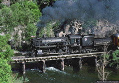 Fourth of July (jamesbelmont) Tags: unionpacific baldwin 280 steam coal provocanyon hebercreeper wildwood trestle utah railway