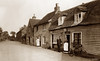 Canewdon (footstepsphotos) Tags: canewdon village essex thomas tea rooms tricycle people weatherboard building road old vintage photograph past historic
