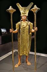 Reconstitution de la Dame de Cao (Musée du quai Branly - Jacques Chirac, Paris)