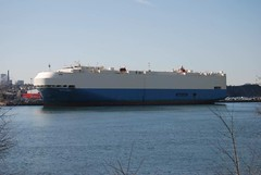 Matorell (jelpics) Tags: carcarrier martorell roro cargoship merchantship boat boston bostonharbor bostonma harbor massachusetts ocean port sea ship vessel