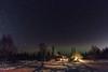starry night (Markus Trienke) Tags: nenana alaska usa us night stars nightscape cabin lodge winter cold ice snow trees
