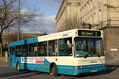 2224 X224 ANC (Cumberland Patriot) Tags: merseyside pte passenger transport executive arriva north west england in liverpool dennis dart slf super low floor plaxton pointer ii two b36f 2224 x224anc derv diesel engine road vehicle omnibus buses queen square station service