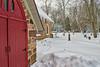 Snowy Church Yard (Kevin Tataryn) Tags: nikon d500 1755 winter snow chruch hudson quebec canada stmaryodcomo hdr aurora2018