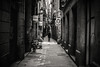 Backstreets.... (Dafydd Penguin) Tags: blackandwhite blackwhite black white monochrome mono noir bw urban city el born barcelona catalunya catalonia spain alley way back streets raw candid shots leica m10 7artisans 50mm f11