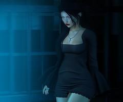 N°1091 - A Little Wicked ♪ (Rina Edenflower) Tags: runawayhair kunst tmd themensdept rebelhope fameshed secondlife secondlifefashion lelutka maitreya