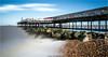 .H.E.R.N.E. .B.A.Y. .P.I.E.R. (Kevin HARWIN) Tags: long exposure water sea wet beach sand rocks stones pier wood sky clouds movement blue green building canon eos m3 sigma 1020mm lens kent south east uk herne bay england britain