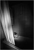 Dark Shower (Thomas Listl) Tags: thomaslistl blackandwhite noiretblanc biancoenegro shower light mood atmosphere curtain dark stone 14mm wideangle vsco bathtub
