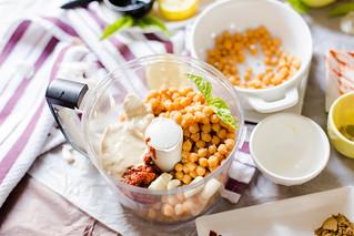 Harissa and Smoked Paprika Hummus