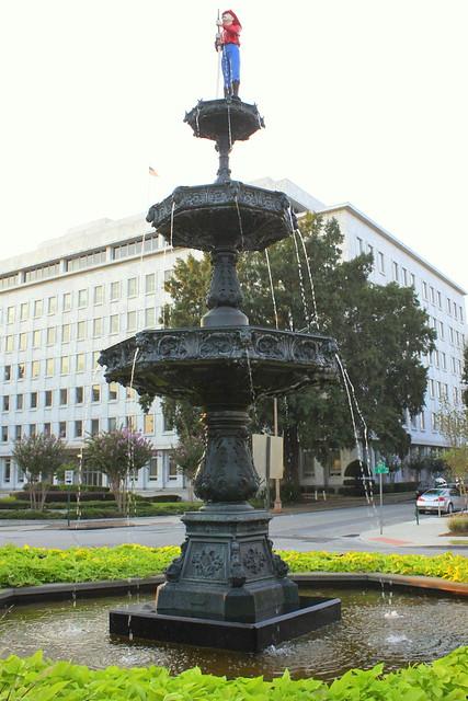 Fireman's Memorial Fountain - Chattanooga, TN