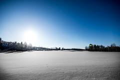 track n field (Mange J) Tags: k3ii clear forrest nature winter värmlandslän sverige se sigma1020mmf456exdc sigma pentax blue shadow shadows värmland sweden landscape