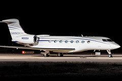 N650GA (jesúsmoreno) Tags: gulfstream g650er n650ga seville night photo airplane picture plane business bussines jet corporate corporatejet