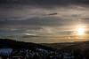 Winterabend (Deutscher Wetterdienst (DWD)) Tags: winter winterabend winterevening frost frosty himmel sky nebensonne parhelion wolken clouds