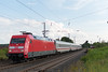 101 051 mit IC in Lollar (_VT2E_) Tags: 101 ic db 051 main weser bahn elok strom