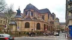 163-Paris décembre 2017 - l'église Saint-Nicolas du Chardonnet boulevard Saint-Germain (paspog) Tags: paris france décembre 2017 égmise kirche church saintnicolasduchardonnet saintgermain boulevardsaintgermain