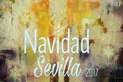Cartel Navidad Sevilla 2017