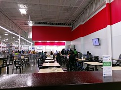 Looking down to the new café (l_dawg2000) Tags: 2017remodel apparel café desotocounty electronics food gasstation meats mississippi ms pharmacy photocenter remodel samsclub southaven tires walmart wholesaleclub unitedstates usa
